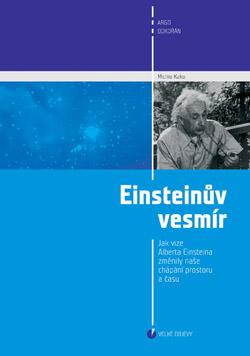 Obalka Einsteinův vesmír.