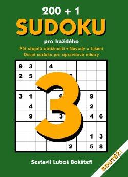 Obalka 200 + 1 Sudoku pro každého 3