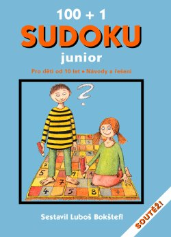 Obalka 100 + 1 Sudoku Junior
