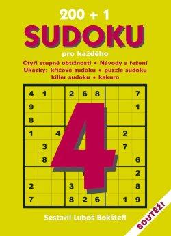 Obalka 200 + 1 Sudoku pro každého 4