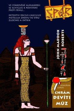 Obalka Chrám devíti Múz. Elektronické vydání
