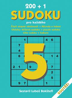 Obalka 200 + 1 Sudoku pro každého 5