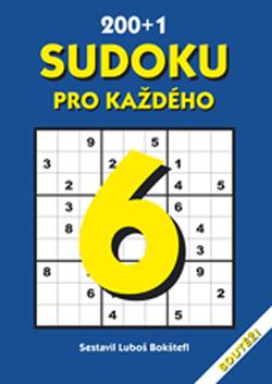 Obalka 200 + 1 Sudoku pro každého 6