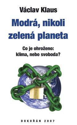 Obalka Modrá, nikoli zelená planeta.