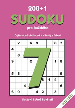Obalka 200 + 1 Sudoku pro každého 7