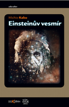 Obalka Einsteinův vesmír. Druhé vydání.