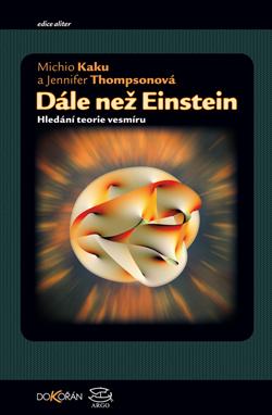 Obalka Dále než Einstein