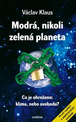 Obalka Modrá, nikoli zelená planeta. Elektronické vydání