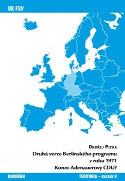 Obalka Druhá verze Berlínského programu z roku 1971 Konec Adenauerovy CDU?